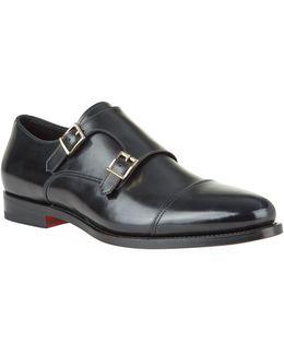 Wilson Double Strap Monk Shoe