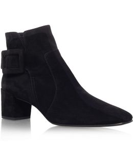 Polly Suede Ankle Boot