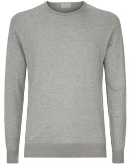 Slim Fit Sea Island Cotton Sweater