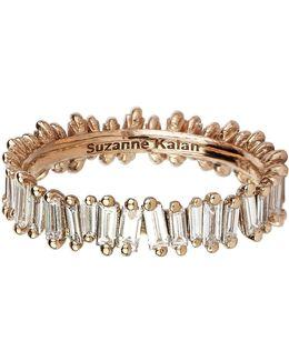 Rose Gold Baguette Diamond Ring
