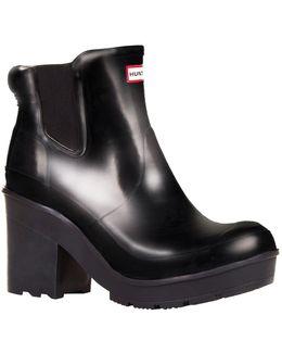 Original Chelsea Heeled Gloss Boots