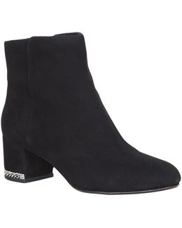 Sabrina Suede Ankle Boot