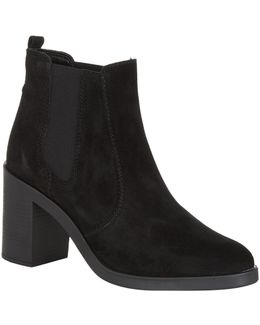 Sicily Suede Ankle Boot