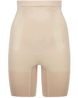 High Waisted Mid-thigh Briefs
