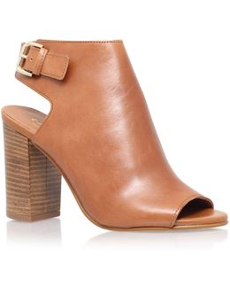 Assent Leather Bootie