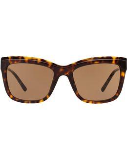 Square Gabardine Sunglasses