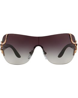 Frameless Rectangle Sunglasses
