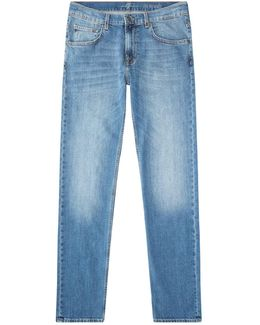 The Straight Aged Jeans