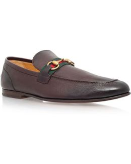 Elanor Horsebit Leather Loafer