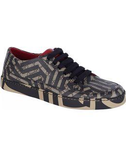 Common Geometric Sneaker