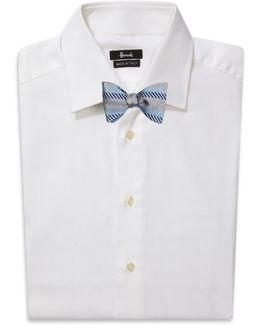 Chevron Stripe Bow Tie