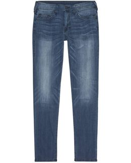 Rocco Super-stretch Relaxed Skinny Jeans