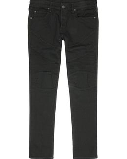 Rocco Moto Relaxed Skinny Jeans