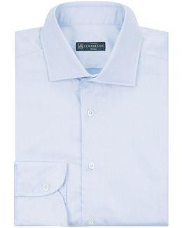 Cotton Herringbone Shirt
