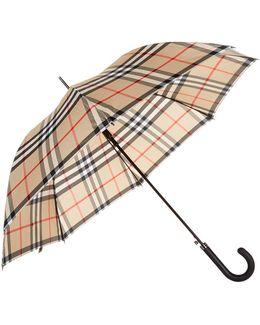 Heritage Check Walking Umbrella