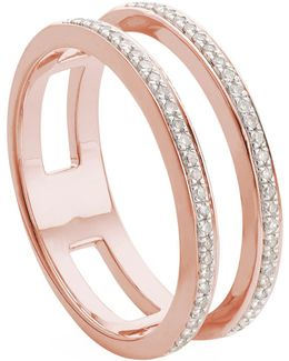 Skinny Double Band Ring
