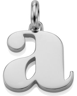 Sterling Silver Lower Case A Pendant
