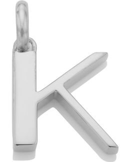 Sterling Silver Capital K Pendant