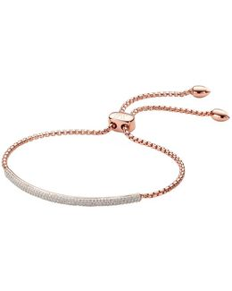 Stellar Diamond Mini Bar Bracelet