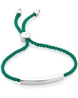 Linear Sterling Silver Friendship Bracelet