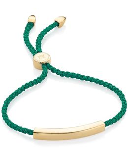 Linear 18ct Gold-plated Friendship Bracelet