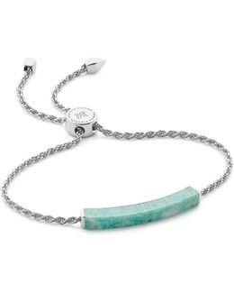 Linear Amazonite Chain Bracelet