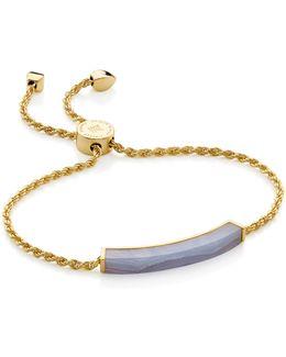 Linear Lace Agate Chain Bracelet