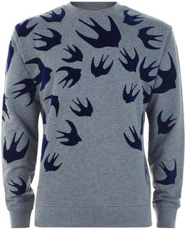 All Over Swallow Sweatshirt