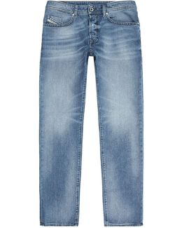 Buster Faded Slim-tapered Jeans