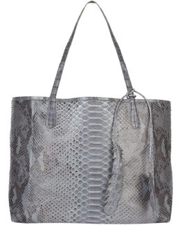 Python Skin Carry All Tote Bag