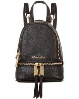 Mini Rhea Zip Backpack