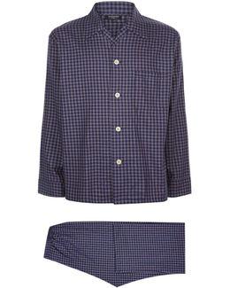 Check Flannel Pyjamas