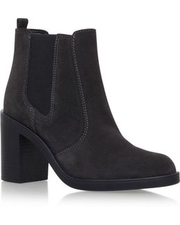 Sicily Block Heeled Ankle Boots