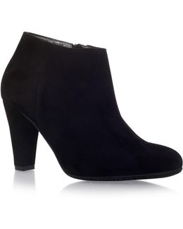 Ross Faux-Suede Ankle Boots