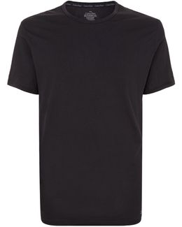 Liquid Stretch Cotton V-neck T-shirt