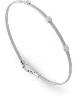 Masai Triple Diamond Bangle Bracelet