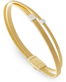 Masai Double Strand Diamond Bracelet