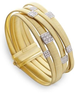 Masai Multi Band Diamond Bracelet