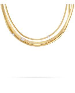 Masai 3-strand Diamond Necklace