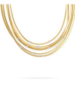 Masai 5-strand Diamond Necklace