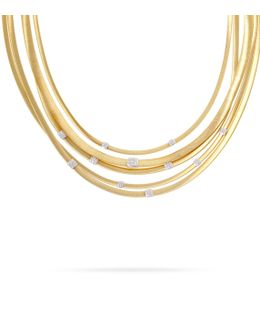 Masai 5-strand Diamond Necklace