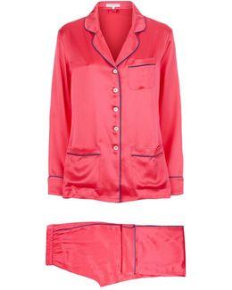 Contrast Trim Coco Pyjamas