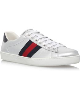 New Ace Metallic Sneakers