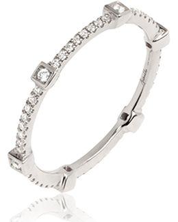 Eclipse Pavilion Diamond Ring