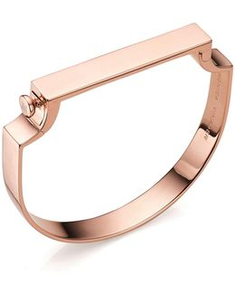 Signature 18ct Rose Gold-plated Bangle