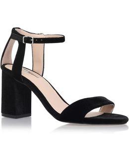 Gigi Strappy Mid-heel Sandals