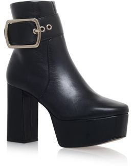Spritz Buckle Ankle Boots