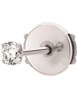 Single King One Diamond Earring