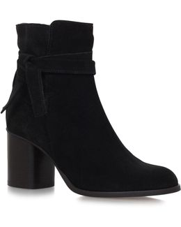 Sleepy Suede Ankle Boots