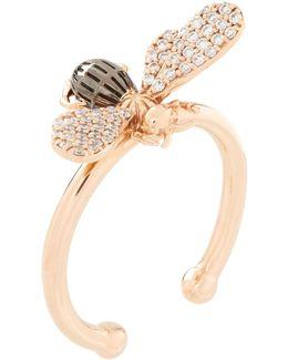 Diamond Queen Bee Ring